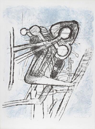 Roberto Matta, 'Onze Formes du Doute', 1959