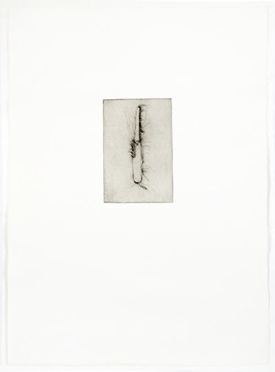 Jim Dine, 'Hand saw (Drypoint)', 1972