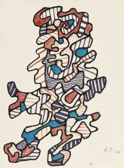 Jean Dubuffet, 'Personnages XXIII', 1964