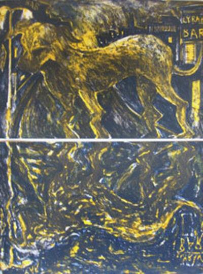 Miquel Barceló, 'Chien Sous La Pluie', 1984