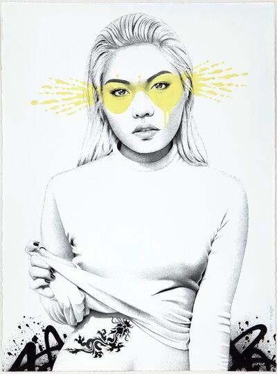 Fin Dac, 'Tatsu (lime)', 2017