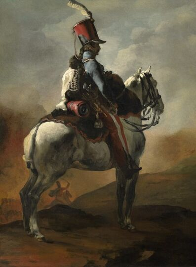 Théodore Géricault, 'Trumpeter of the Hussars', 1815-1820