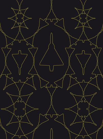 Zoulikha Bouabdellah, 'Mirage Graphic V', 2012
