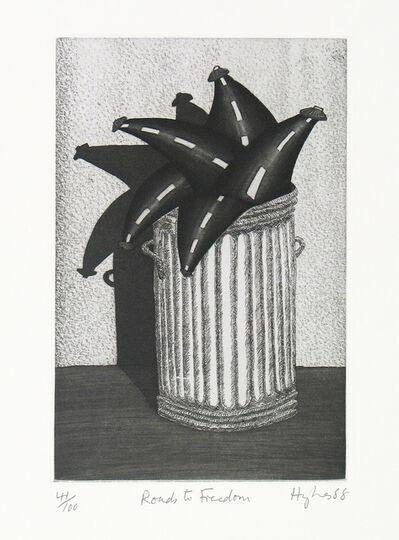 Patrick Hughes, 'Roads to Freedom', 1988