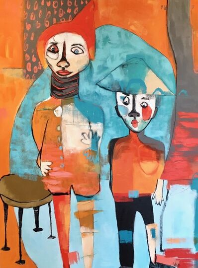 Vikki Drummond, 'THE TWO AMIGOS', 2018