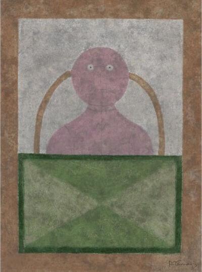 Rufino Tamayo, 'Torso en Rosa (P. 269)', 1980
