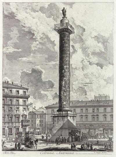 Giovanni Battista Piranesi, 'Colonna Antonina', 1758