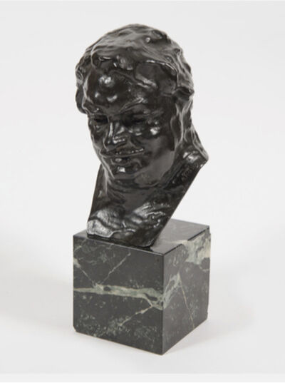 Auguste Rodin, 'Balzac, étude C (buste), 3ème version, petit modèle', 1912-1927