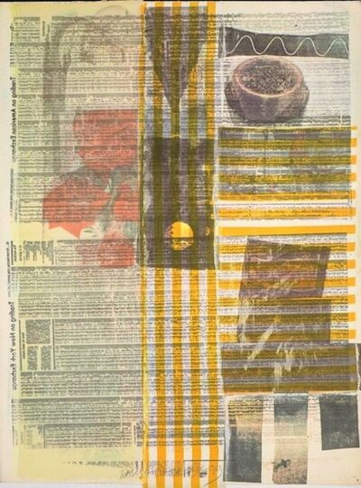 Robert Rauschenberg, 'One More and We Will Be More than Halfway There', 1979