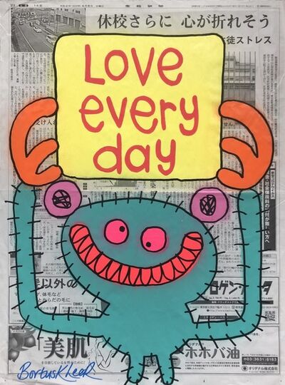 Bortusk Leer, 'Love Every Day', 2020