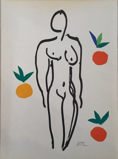 Henri Matisse, 'Nude with Oranges', 1954
