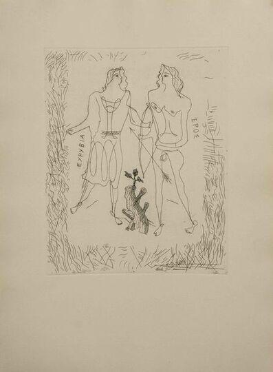 Georges Braque, 'Eurybia and Eros', ca. 1932