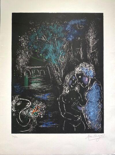 Marc Chagall, 'L'Arbre Vert Aux Amoureux (M.959).', 1980