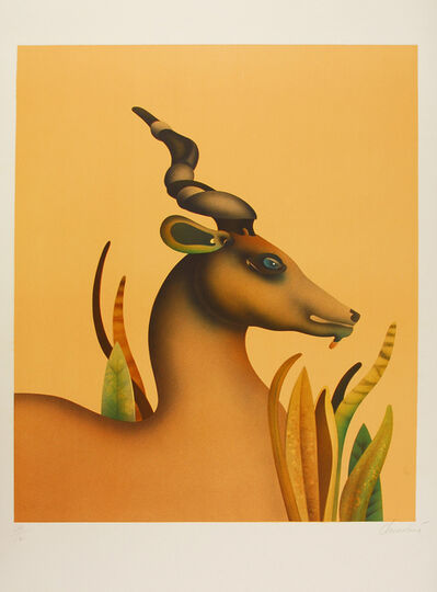 Jean-Paul Donadini, 'The Unicorn / La licorne', 1982