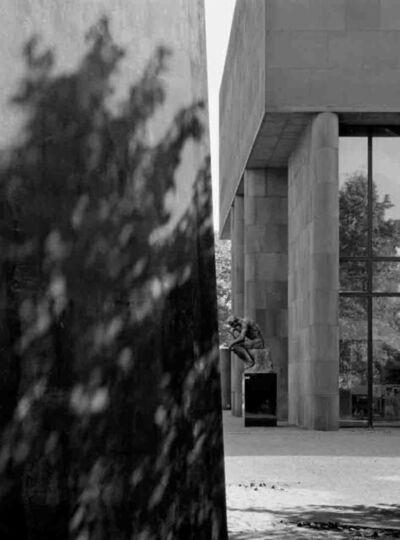 Klaus Kinold, 'Kunsthalle Bielefeld, Richard Serra, Axis ', 1989