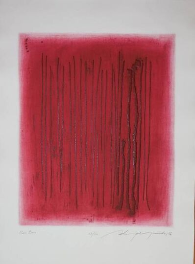 Adja Yunkers, 'Red Echo', 20th Century