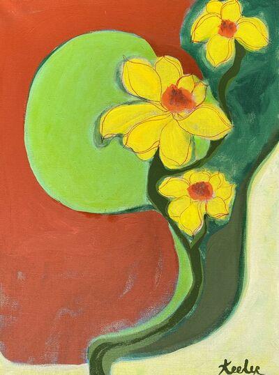 Lynda Keeler, 'Garden Map Laurel Canyon #17', 2021