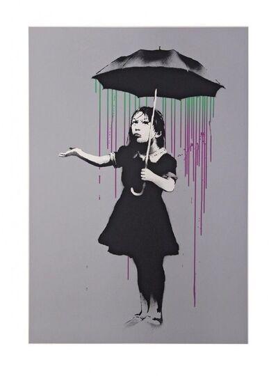 Banksy, 'NOLA AP (Green To Purple)', 2008