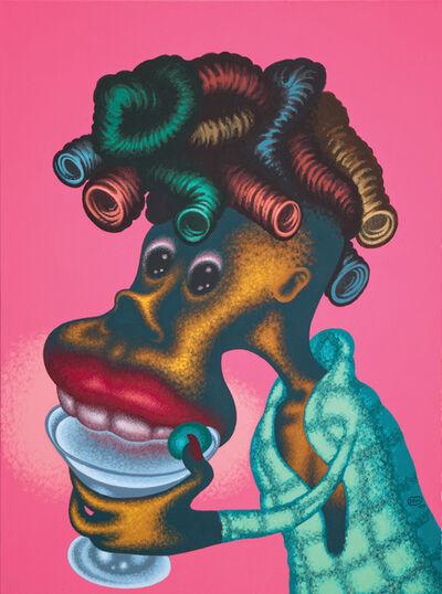Peter Saul, 'Woman Drinking Martini', 2009