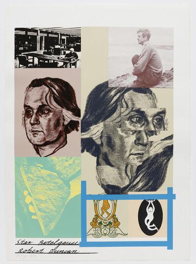 R. B. Kitaj, 'Star Betelgeuse/Robert Duncan', 1967