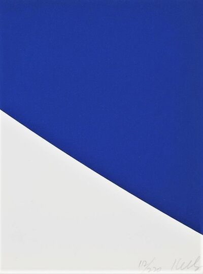 Ellsworth Kelly, 'Blue Curve', 1999