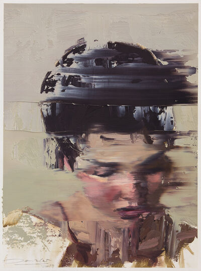 Andy Denzler, 'Head Study XII', 2019