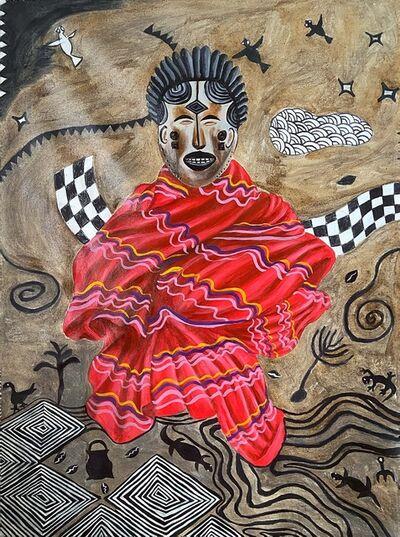 Kelechi Nwaneri, 'Mmanwu 2', 2021