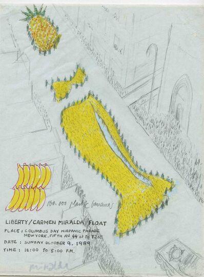 Antoni Miralda, 'Liberty/ Carmen Miralda Float', 1986-1992