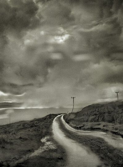 Albert Watson, 'Glen Claigan through Windshield, Isle of Skye, Scotland', 2013