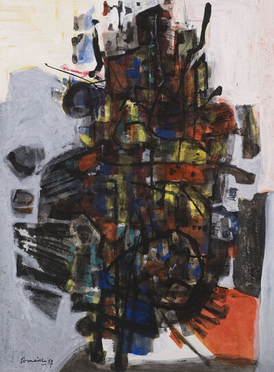 Corneille, 'Desert Fleurissant', 1957