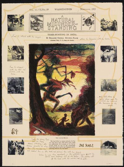 Walton Ford, 'The Dance Begins', 1995