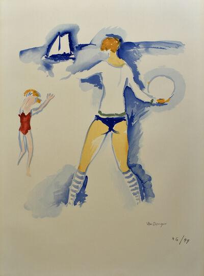 Kees van Dongen, 'Woman on the Beach, Trouville (Femme Sur la Plage, Trouville)', 1966