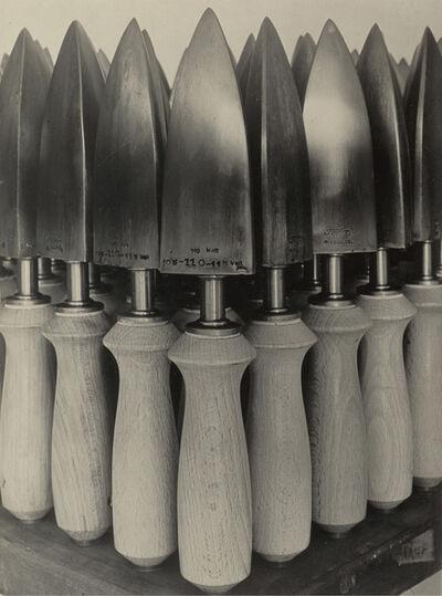 Albert Renger-Patzsch, 'Flat Irons for Shoe Manufacture, Fagus Factory I (Bügeleisen für Schuhfabrikation, Fagus-Werk, Alfeld)', 1926