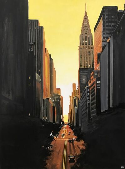 Angela Wakefield, 'Chrysler Building 42nd Street, New York City', 2011