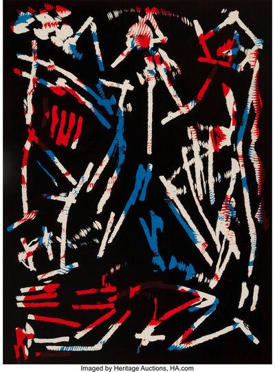 A.R. Penck, 'Mul, Bul Dang & Sentimentality', 1988