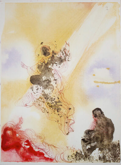 Salvador Dalí, 'Saint Raphael And Tobias', 1964-1967