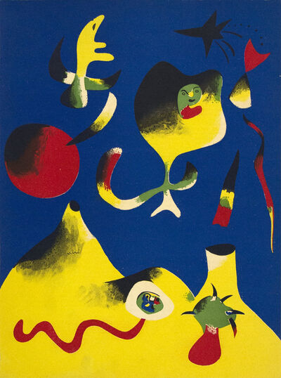 Joan Miró, 'Air', 1937