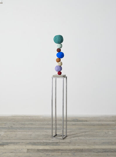 Annie Morris, 'Stack 8, Viridian Green', 2019