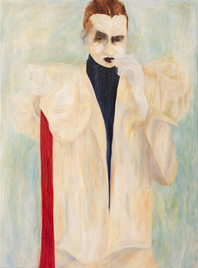 Kharis Kennedy, 'Smoking with Red Sleeve ', 2018