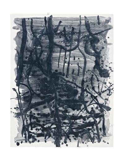 Shinro Ohtake, 'Indigo Forest 19', 2015