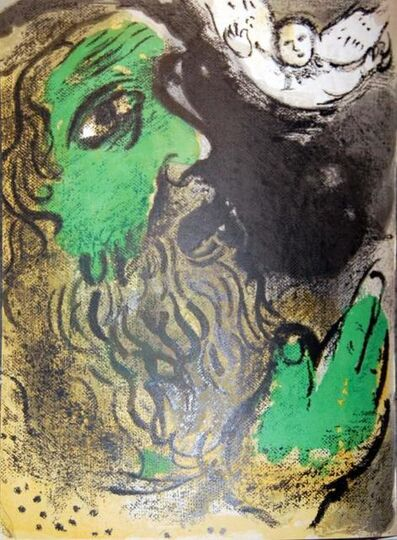 Marc Chagall, 'Job En Pieres (Job In Stones)', 1960