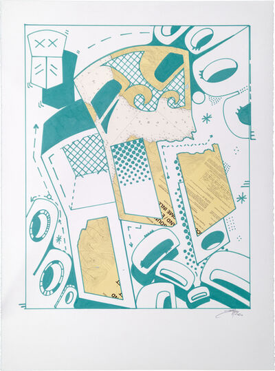 Sonny Assu, 'Landline #5', 2020