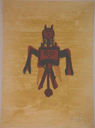 """Wifredo Lam, ' """"El ultimo viaje del buque fantasma""""', 1976"""