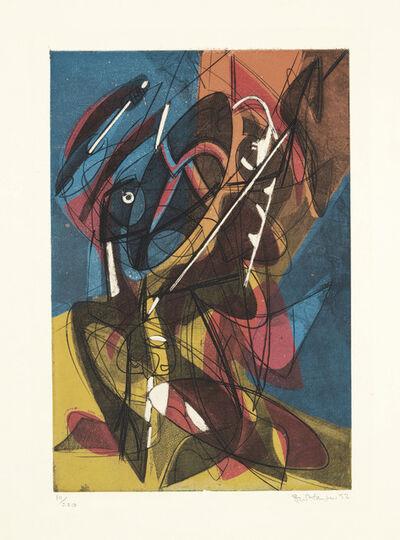 Stanley William Hayter, 'Combat', 1953