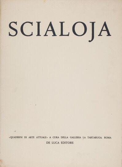 Toti Scialoja, 'Scialoja - Quaderni di arte attuale', 1959