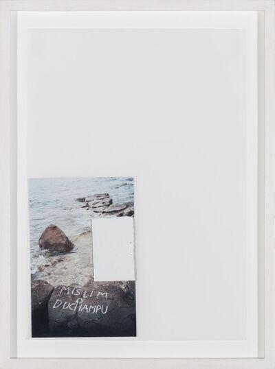 Vlado Martek, 'I think about Duchamp', 2014
