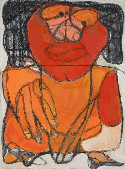 Caroline Demangel, 'Croissan Ce Orange', 2015