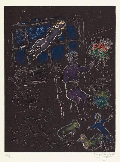 Marc Chagall, 'L'Atelier de nuit (The Night Workshop) (M. 961)', 1980