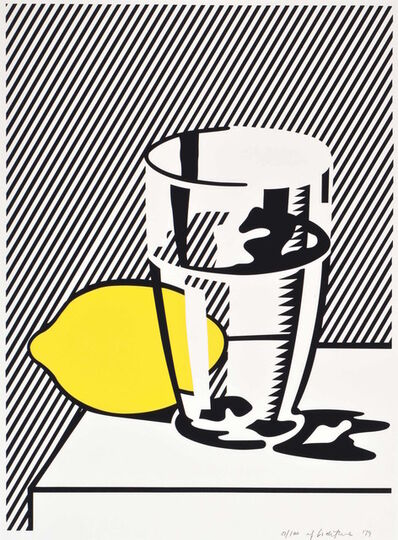 Roy Lichtenstein, 'Untitled (Still Life with Lemon and Glass) for Meyer Schapiro', 1974