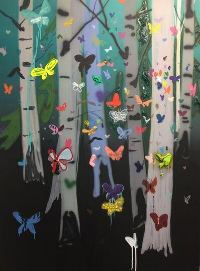 Kim Dorland, 'Swarm #1', 2016